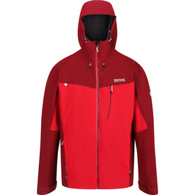 Regatta Birchdale Veste Shell Imperméable Homme, true red/delhi red